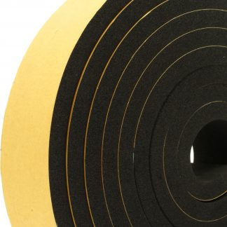 8mm Thick Self-Adhesive Sponge Strips 5m-0