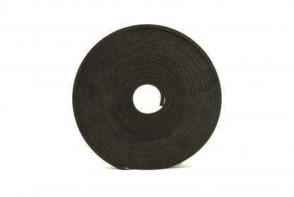 4mm Thick, 5m Long - Solid Black Neoprene Rubber Strips-0