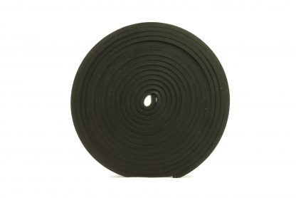 6mm Thick, 5m Long - Solid Black Neoprene Rubber Strips-69