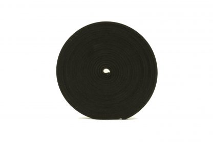 3mm Thick, 5m Long - Solid Black Neoprene Rubber Strips-66