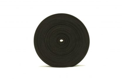 1.5mm Thick, 5m Long - Solid Black Neoprene Rubber Strips-63