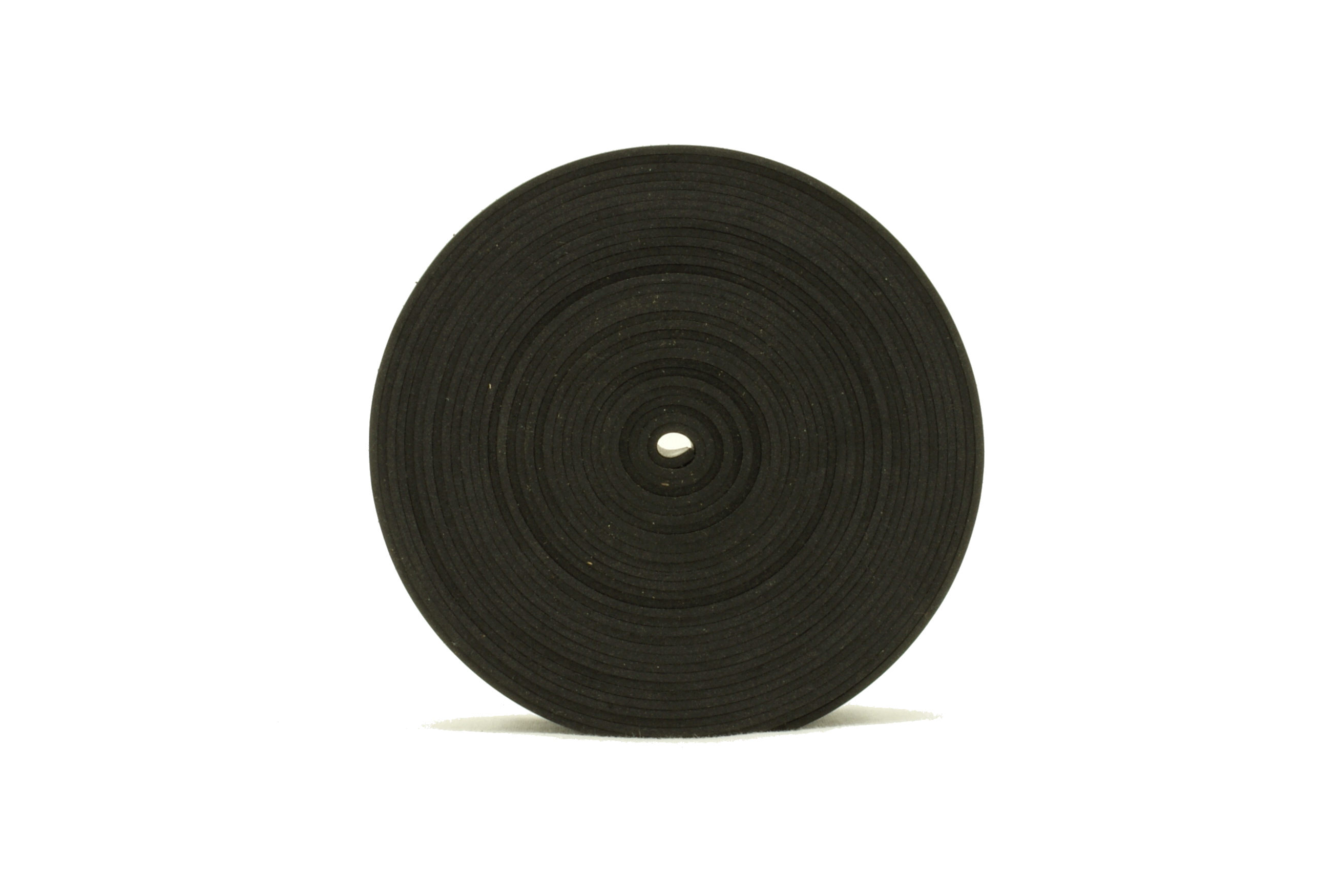 Solid Neoprene Black Rubber Strip 1 5mm Thick X 5m Long