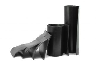1.5mm Thick - Black Rubber Sheeting-0