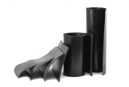 2mm Thick - Black Rubber Sheeting-55