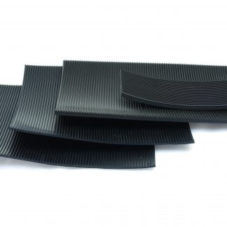 3mm Thick - Fine Fluted Rubber Matting-0