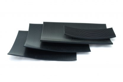 3mm Thick - Fine Fluted Rubber Matting-57