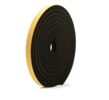 15mm Thick Self-Adhesive Sponge Strips 5m-0