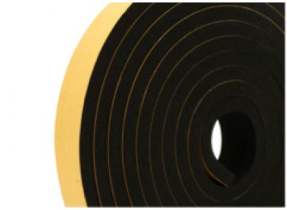 10mm Thick Self-Adhesive Sponge Strips 5m-0